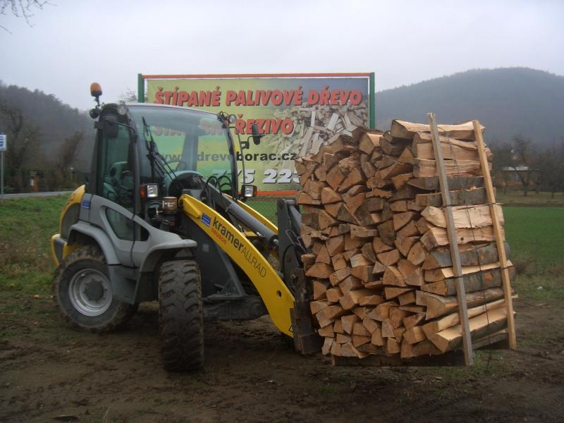 Palivové dřevo, nakladač