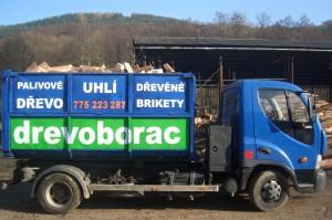Rozvoz palivového dřeva